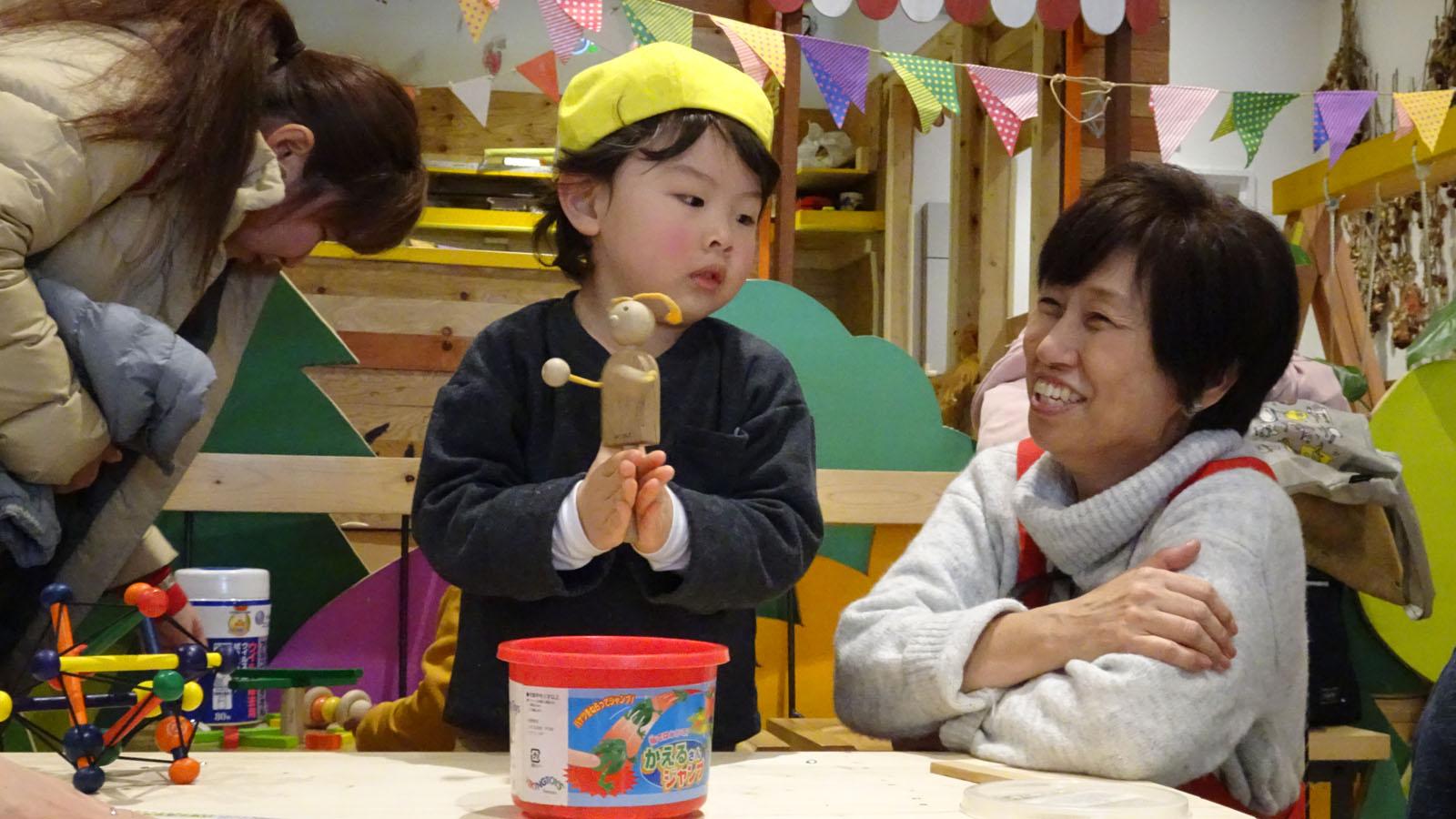 「何かしたい!」がすべての始まり‐八王子市・阿部績子さんのおもちゃの広場