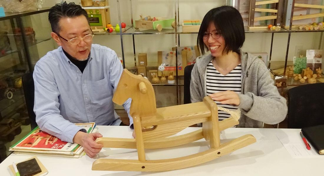 日本でいちばん古い木製玩具メーカー ニチガンの「エルムの木馬」(後編)