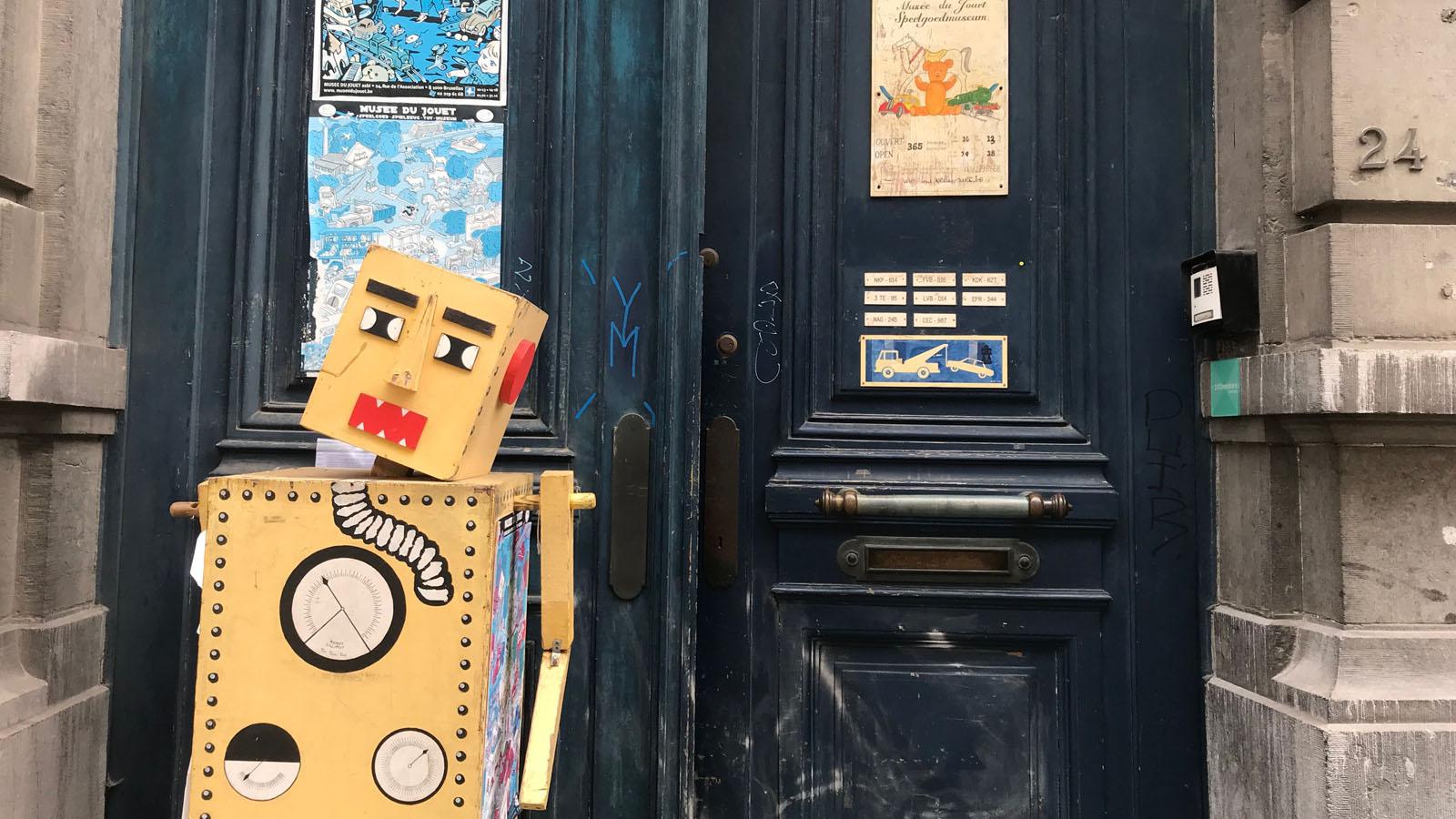 """世界のおもちゃ箱★ベルギーのおもちゃ美術館 """"Le Musée du Jouet"""""""