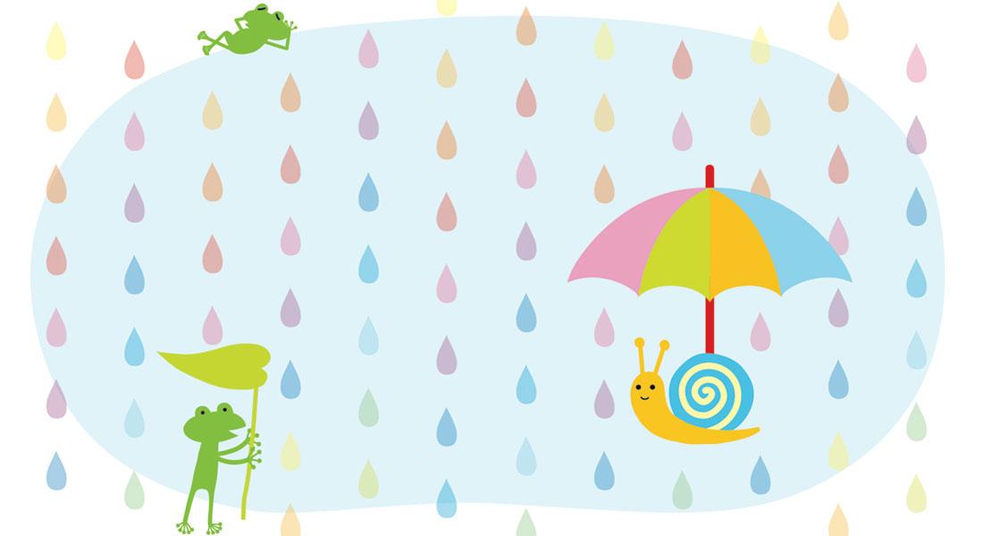 6月[水無月・JUNE]/傘かざりを作ろう!