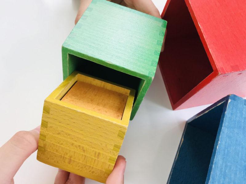 究極の箱!「ミニ箱積み木」