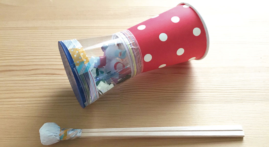 8月[葉月・AUGUST]/おまつり太鼓を作ろう!
