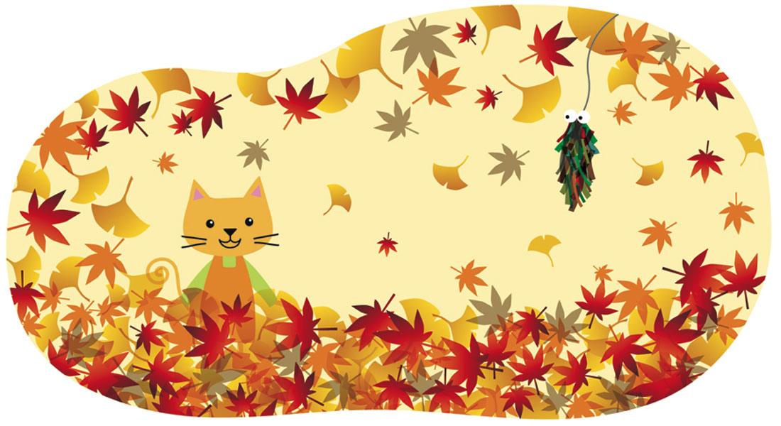 11月[霜月・NOVEMBER]/みのむしツリーをつくろう!
