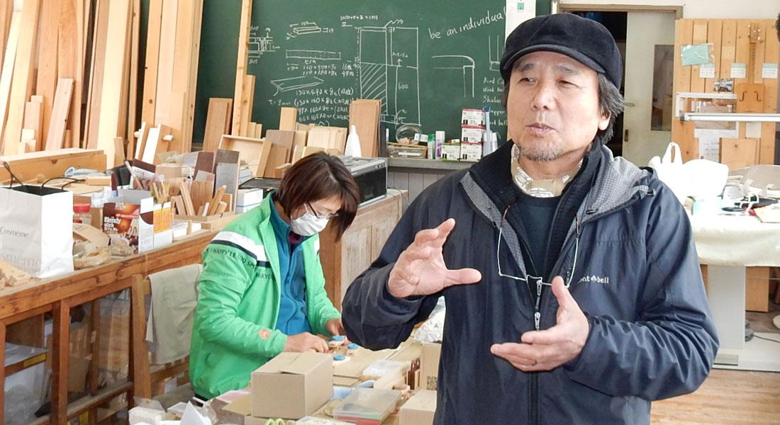西粟倉村から、DNAに響く音を作り出す ―おもちゃ作家 石川照男さん