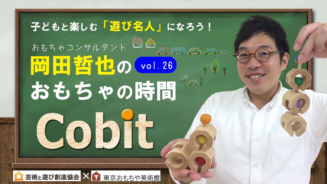 岡田哲也のおもちゃの時間Vol.26 車ごっこや魚釣り遊びも!つながる木製ブロック 「Cobit」後編