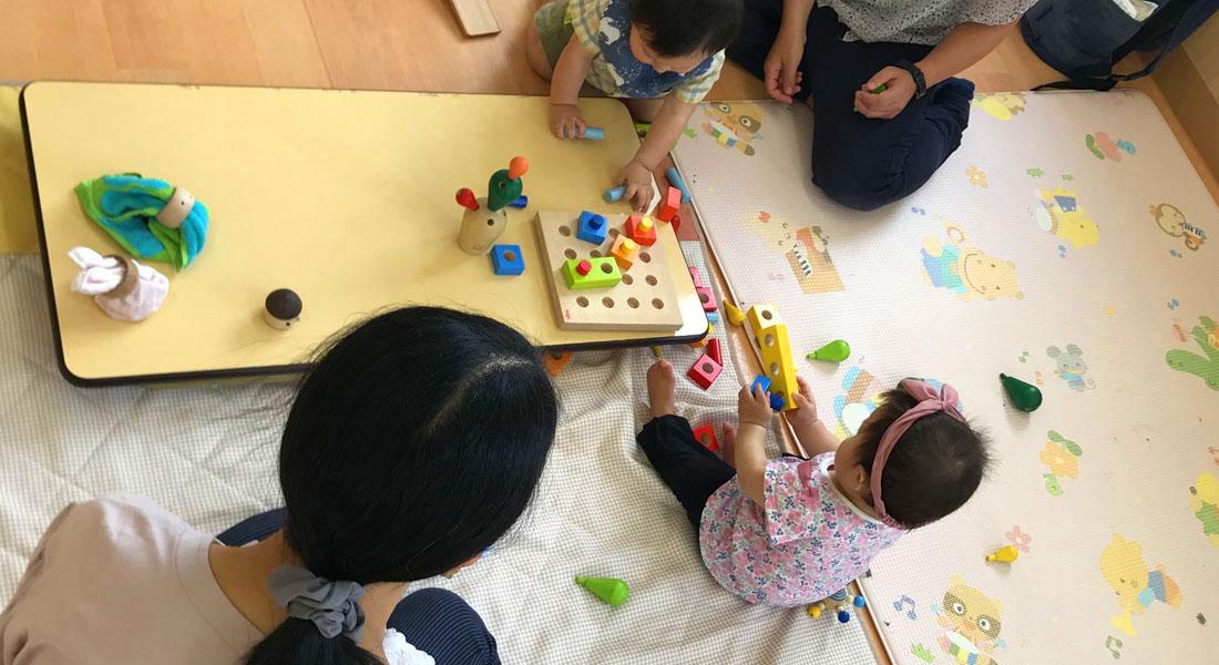 遊び場からおもちゃが消えた…。地域の親子のため、おもちゃの広場を開催!