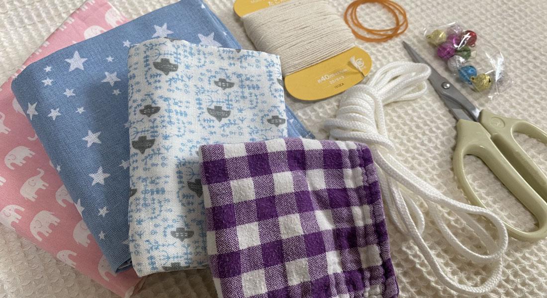 縫わずに簡単!ママの手づくり布おもちゃ